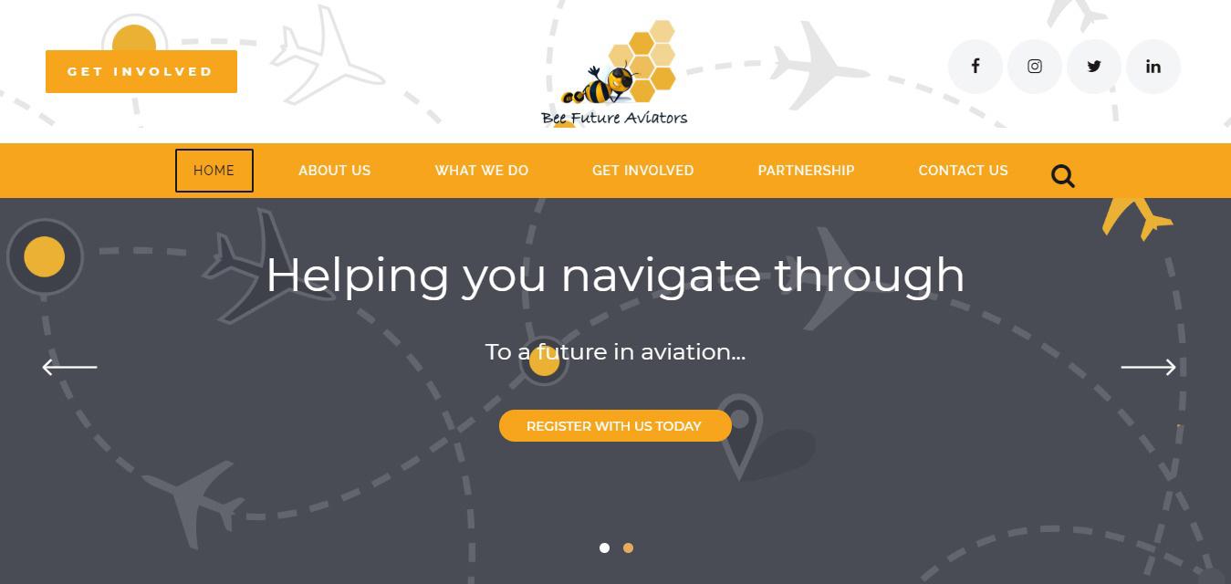 Bee-Future-Aviators-Website